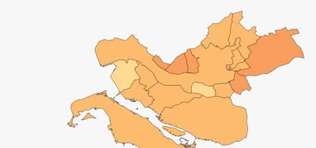 Rotterdamse regio weer koploper aantal positieve coronatesten