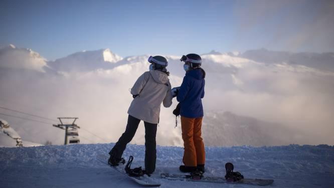 Voorlopig geen coronapas nodig om te skiën in Zwitserland, wel mondmasker
