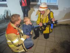 Brandweerman Jan van den Berg 'redt' Nieuwegeins burgemeester