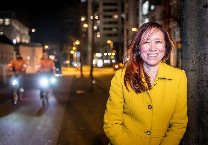 Shirley Taylor volgde de inauguratie van Joe Biden vanuit Eindhoven op de voet.