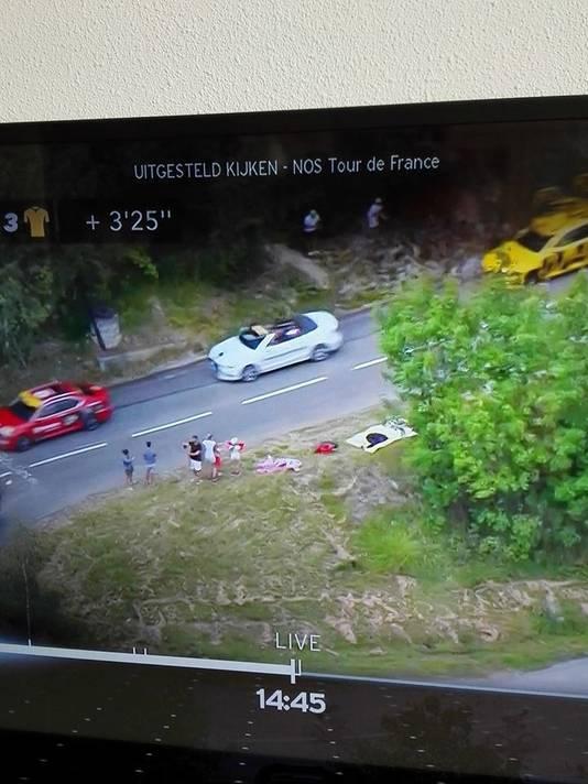 Auto's in de Tour de France