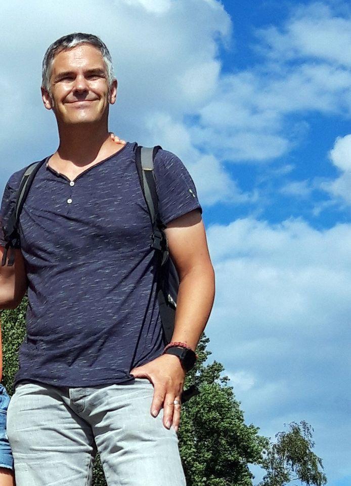 David Dupont , de voorzitter van de gemeenteraad in Begijnendijk, stapt zaterdag 100 km voor het Kinderkankerfonds.