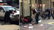 """Twaalf mensen krijgen stuiptrekkingen en vallen gelijktijdig flauw op straat: """"Net een scène uit 'The Walking Dead'"""""""