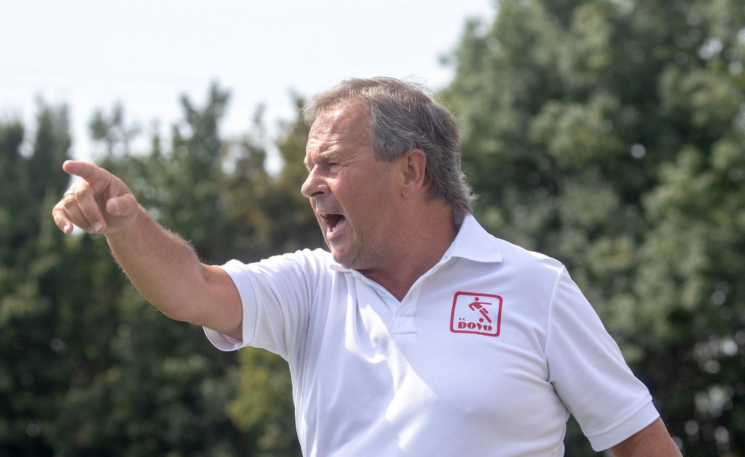 Gert Kruys, trainer van DOVO.