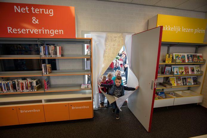 De Lage Beemden opende drie jaar geleden een bibliotheekpunt in gemeenschapshuis De Dreef in Aarle-Rixtel. archieffoto