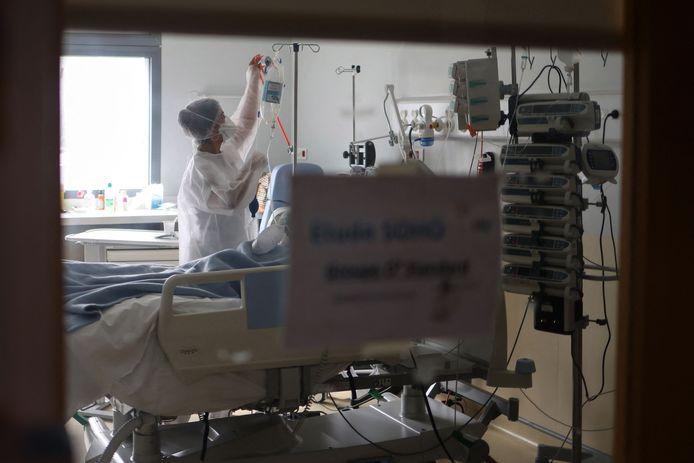 Patient Covid à La Réunion, ce vendredi 30 juillet.