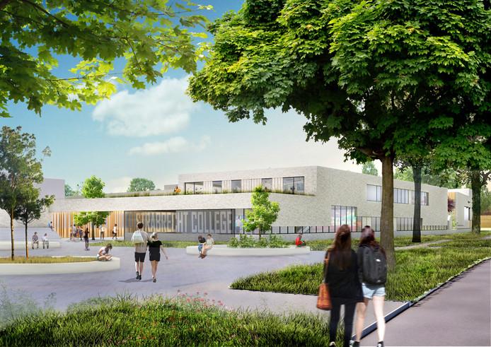 Zo komt het nieuwe Strabrecht College er uit te zien