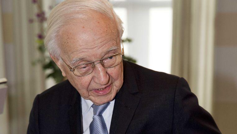 Oud-premier Piet De Jong. Beeld ANP