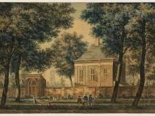 Deze pas ontdekte aquarel geeft een bijzonder inkijkje in het leven van Utrechters anno 1757
