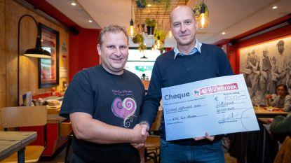 Delhaize schenkt 1.500 euro van 'Cuvee Willebroek' aan De Vlinder