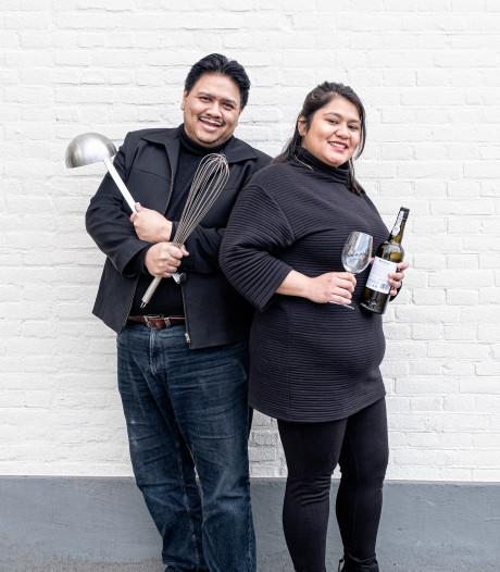 Vader Roger (50) en dochter Rachel (24) beginnen Indonesisch restaurant in Soest: 'Genieten als mensen nog een keer opscheppen'