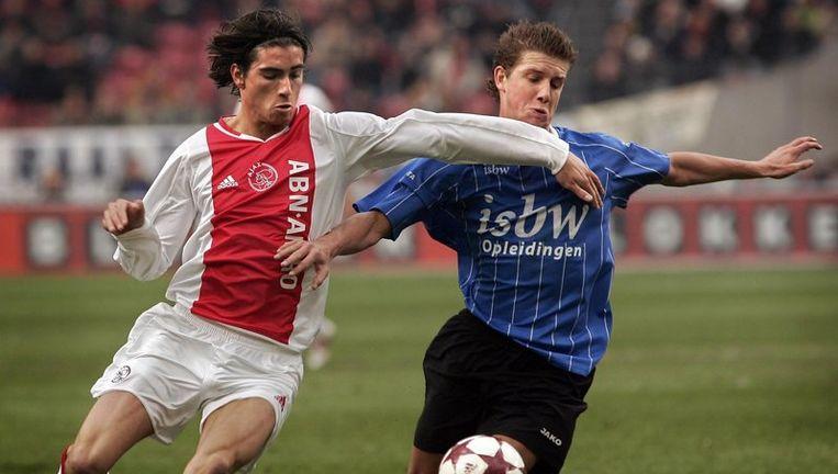 Daniël de Ridder in het shirt van Ajax, februari 2005. Foto ANP Beeld