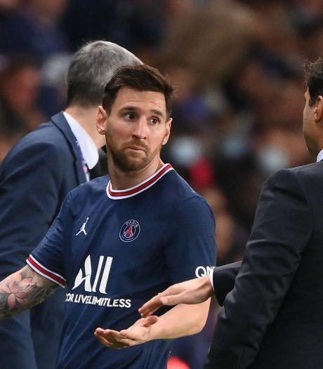 Messi blessé et forfait pour le prochain match du PSG
