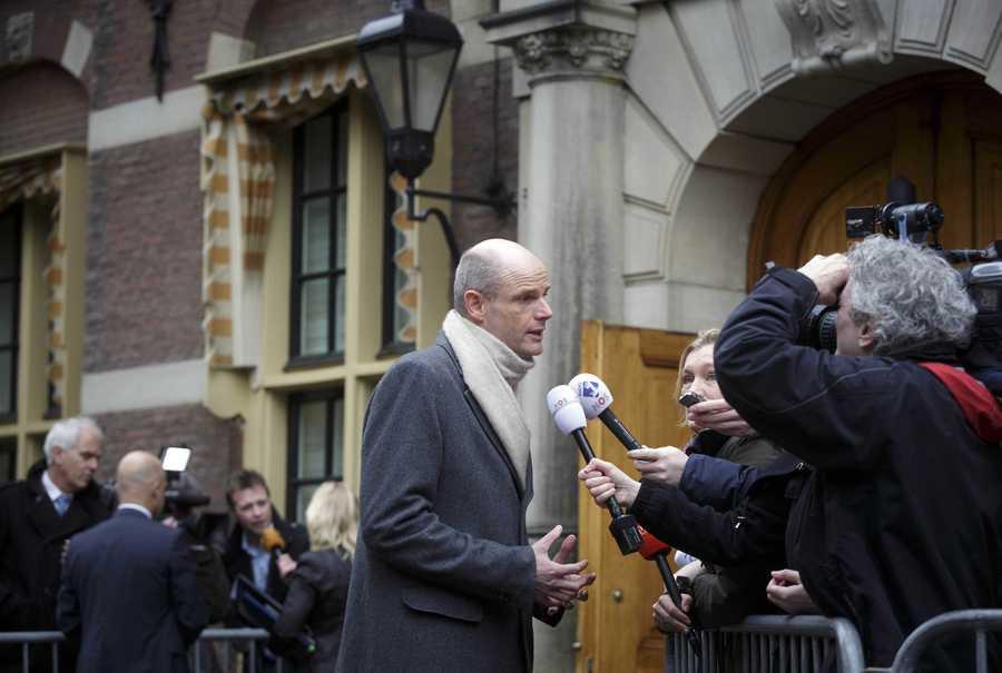 Minister Stef Blok van Wonen en Rijksdienst.