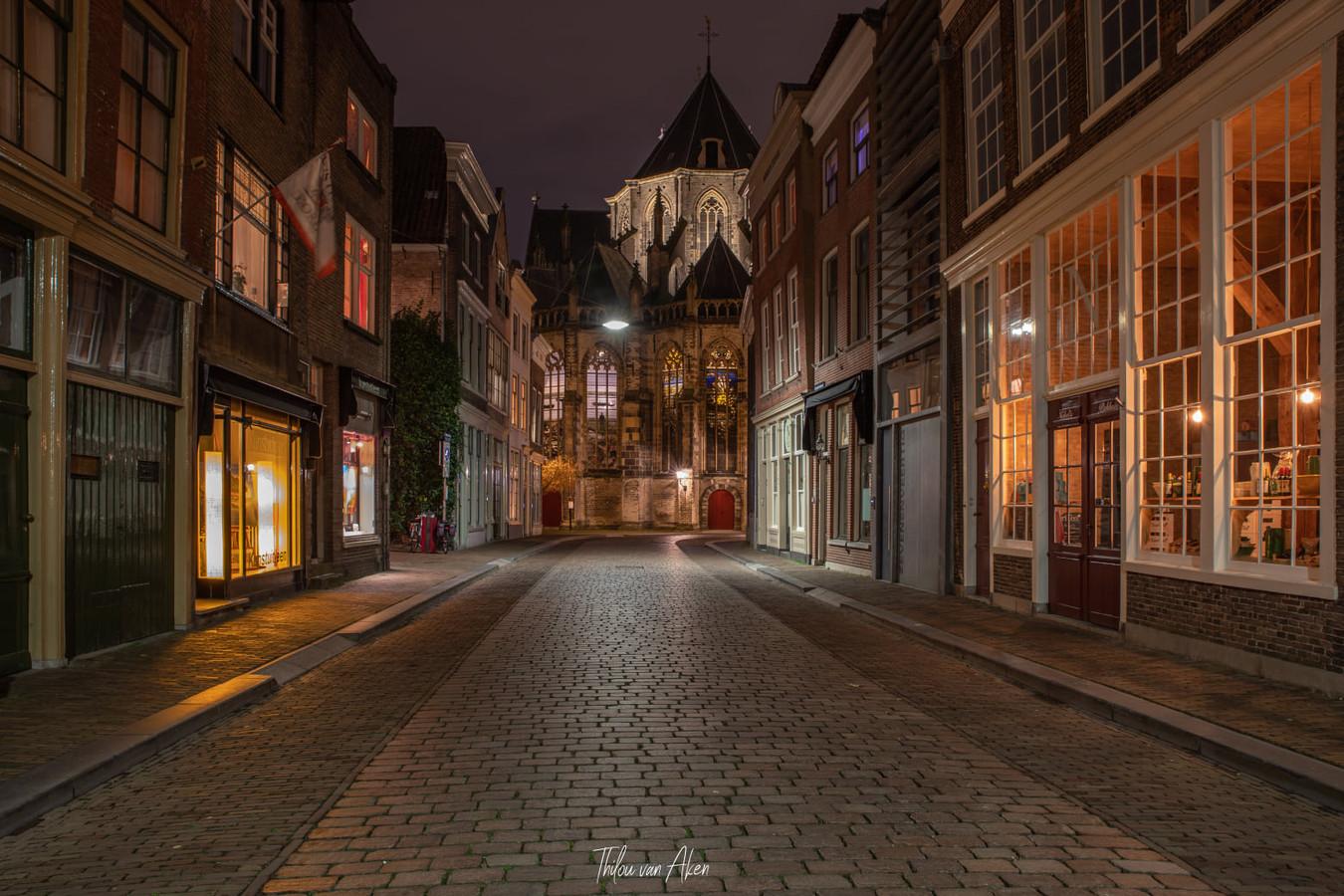 Een van de foto's die Thilou het afgelopen weekend in de Dordtse binnenstad maakte.
