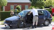 Baby betrokken bij verkeersongeval