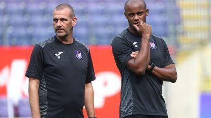 Kompany komt tot inzicht en wil zijn staf hervormen: Anderlecht denkt aan échte coach