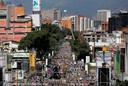 Oppositiepartijen zijn vandaag weer massaal de straat opgegaan om te protesteren tegen het regime van de socialistische president Maduro.