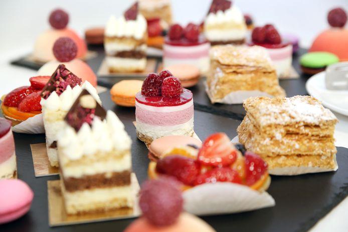 Desserts. Foto ter illustratie.