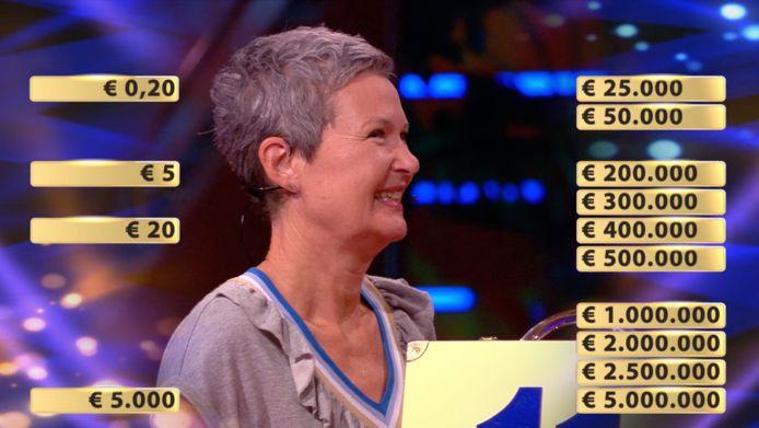 Annemarie speelde in de eerste rondes bijna alleen maar lage bedragen weg.