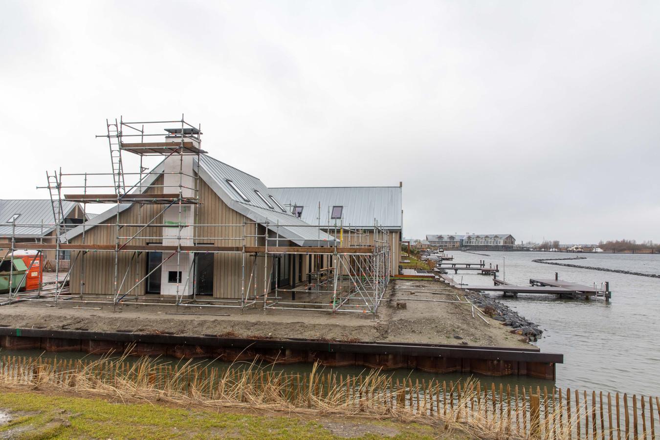 Park Waterrijk Oesterdam, op de Speelmansplaten bij Tholen, is bijna klaar.