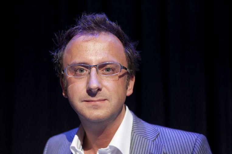 Jeroen Snel. Presentator van EO-programma Blauw Bloed. Beeld
