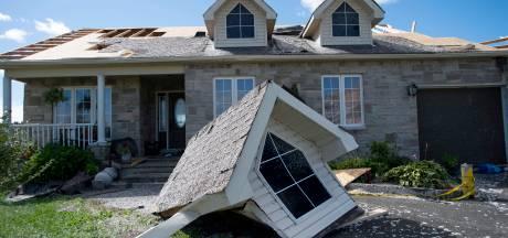 Ottawa zit in het donker na tornado