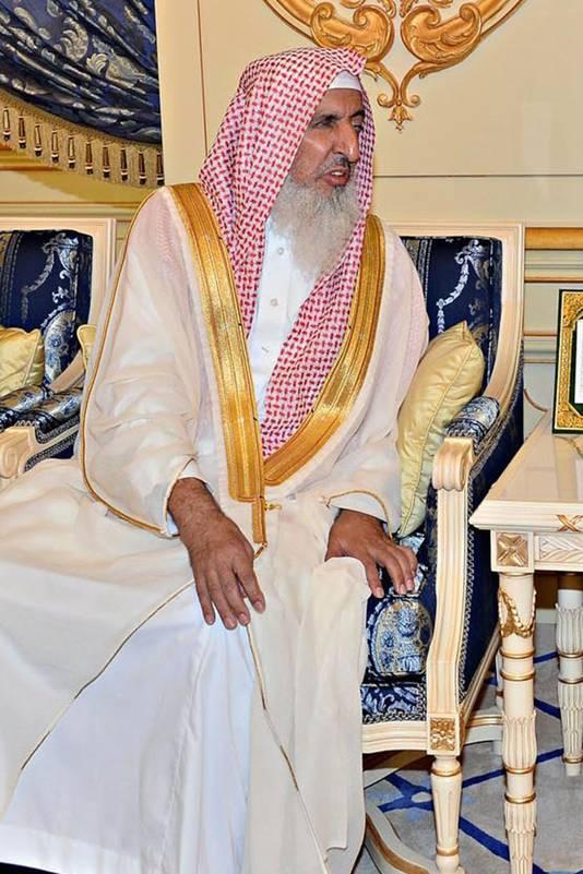 Grootmoefti Abdulaziz Al-Sheikh.