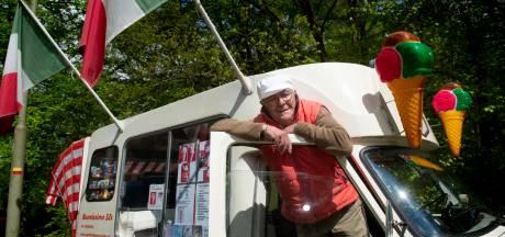 Apeldoornse ijscoman Silvano (78) gaat nog lang niet met pensioen