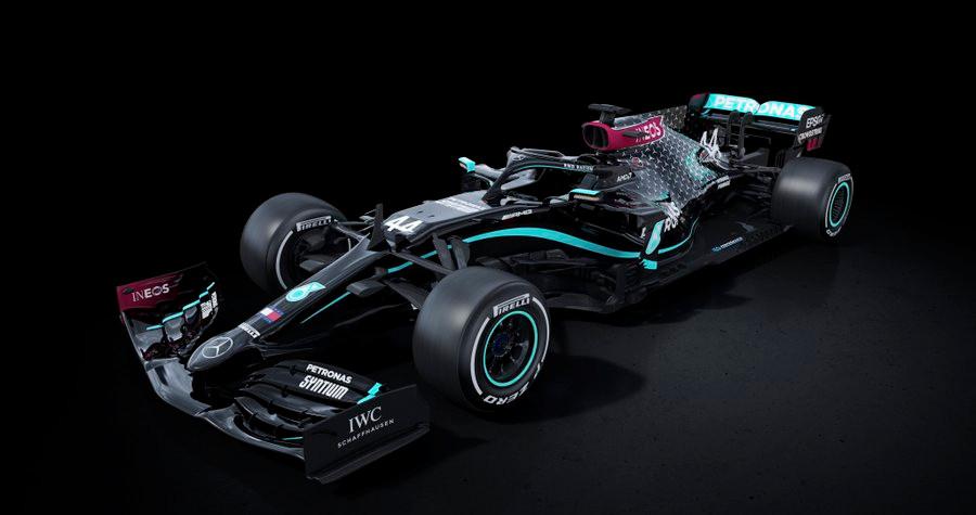 Nieuwe Mercedes livery