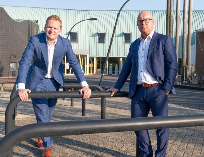 Stijn van Kervinck en Marcel Steketee starten de nieuwe lokale partij Hart voor Veere.