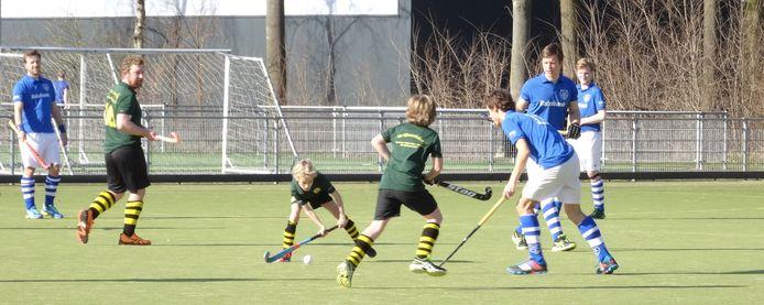 Hockeyvereniging GZG Hardenberg is op sportpark De Boshoek uit haar jasje gegroeid.