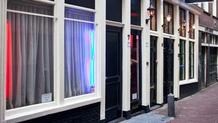 De Wallen in Amsterdam. Foto Marc Driessen Beeld