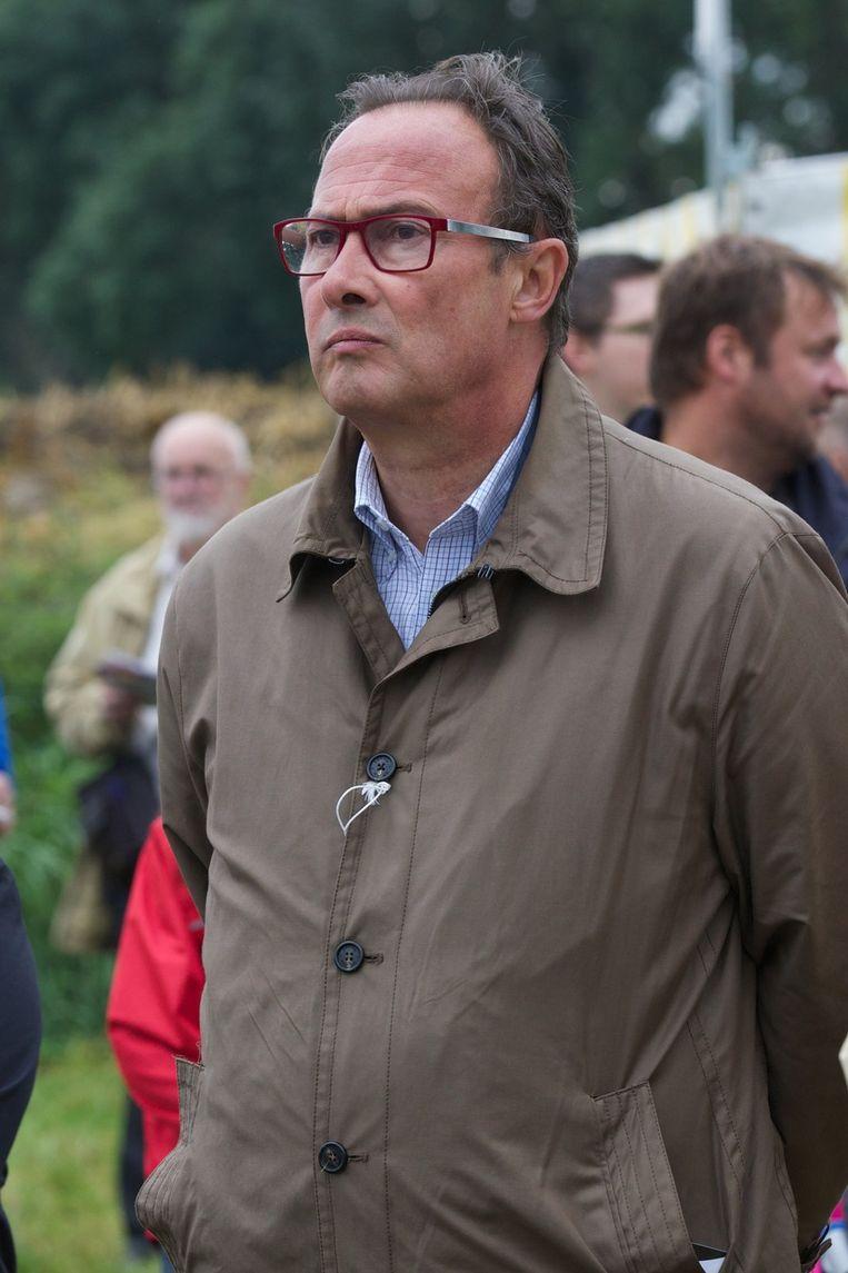 Bruno Valkeniers, voorzitter van Vlaams Belang. Beeld BELGA