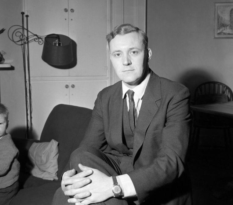 Tony Benn was de enige persoon die mocht roken in de kerk van Fraser Beeld HH
