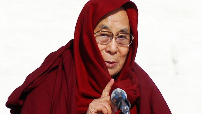 Le dalaï lama en Mongolie le 23 novembre 2016.
