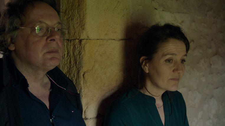 Beeld uit de documentaire 'Ruut Weissman: de hoofdpersoon', met links de hoofdpersoon. Beeld