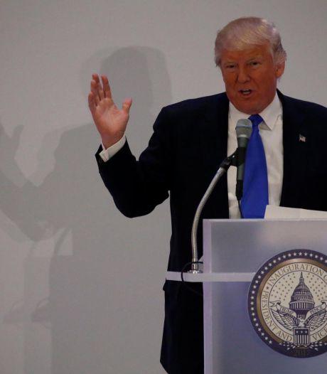 Trump est arrivé à Washington pour son investiture vendredi