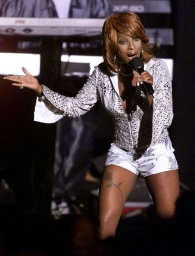 Mary J. Blige. Beeld UNKNOWN