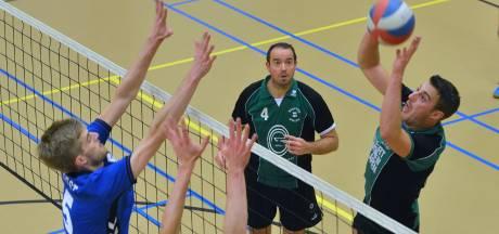 Volleyballers Haaften Kwiek blijven zakken