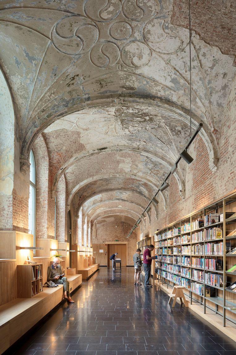 Stadsbibliotheek Het Predikheren, Mechelen door Korteknie Stuhlmacher Architecten. Beeld Luuk Kramer