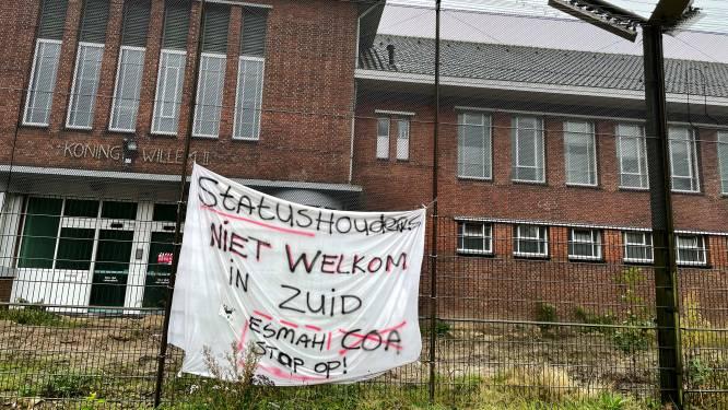 Eerste teken van protest tegen opvang statushouders op kazerneterrein in Tilburg
