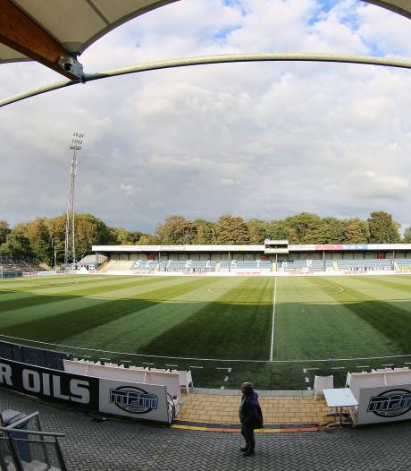Heerenveen in stadion Telstar tegen ODIN'59