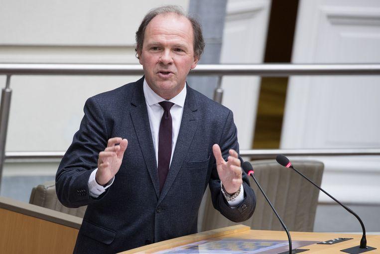 Vlaams minister van Werk Philippe Muyters (N-VA) zei woensdag in het Vlaams parlement dat hij een 'Arbeidspact' wil lanceren. Beeld BELGA