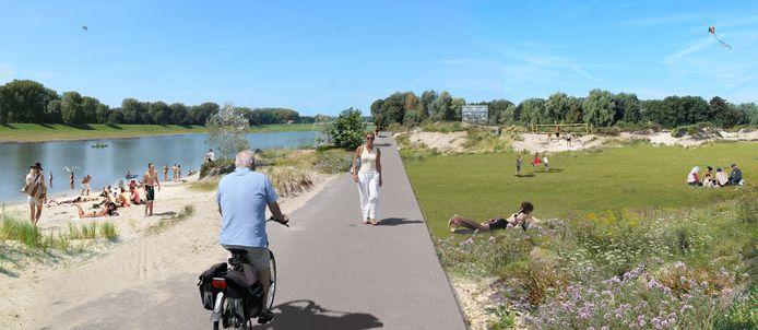 Impressie van toekomstig Stadsblokken en Meinerswijk in Arnhem.