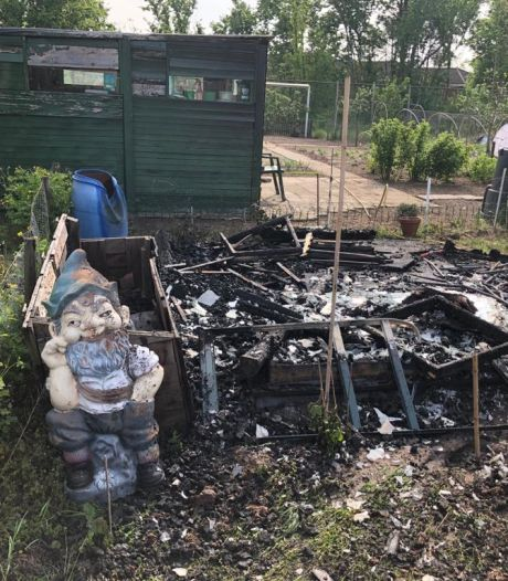 Brand verstoort rust op vredelievende plek in Veldhoven