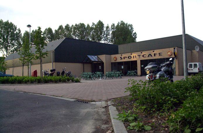Het Sportcafé aan de sporthal in Aartselaar.