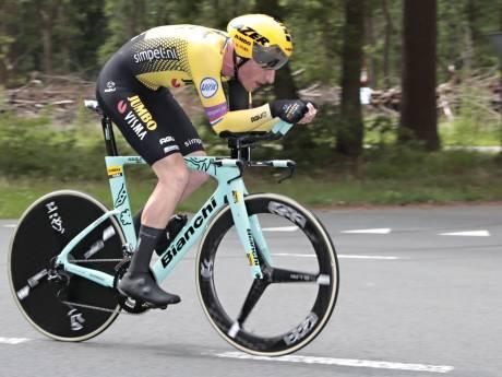 Van Emden wint NK tijdrijden: 'Blij dat parcours niet zo lang was'