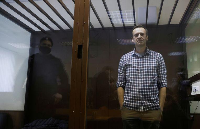 Russisch oppositieleider Aleksej Navalny. Beeld REUTERS