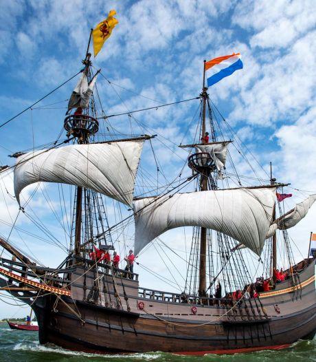 VOC-klassieker meert aan in Delfshaven